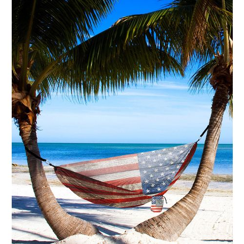 Twisted Root Design Twisted Print USA Wood Flag Hammock - view number 3