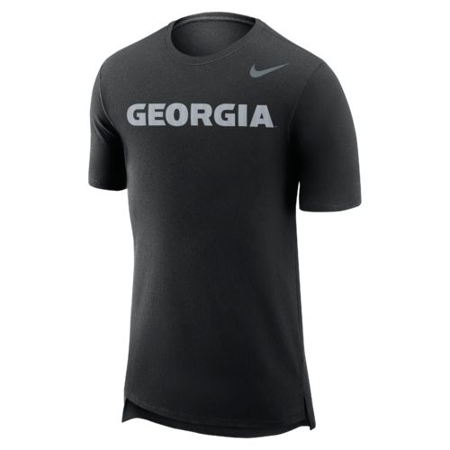 Nike™ Men's University of Georgia Enzyme Droptail T-shirt - view number 1