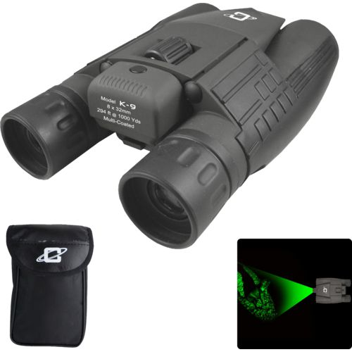 Cassini K-9 8 x 32 Green Laser Binoculars - view number 2