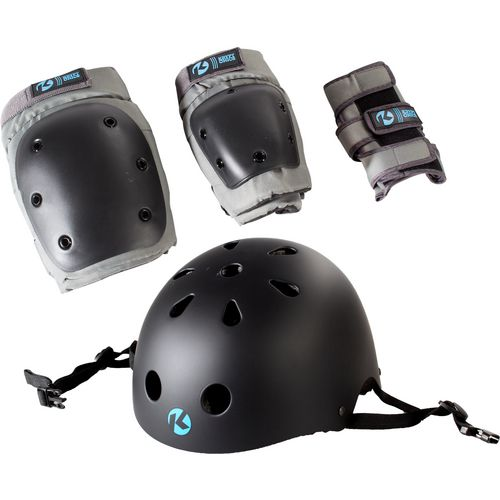 Kryptonics Adults' California 4-in-1 Pad Set With Helmet