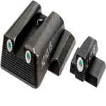 HIVIZ Shooting Systems NITESIGHT Tritium Front and Rear Smith & Wesson Pistol Sight Set - view number 1
