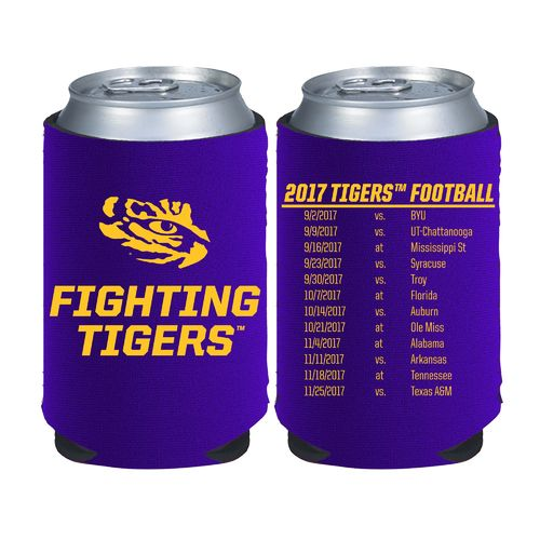 Wholesale Kolder Kaddy Louisiana State University 2017 Football Schedule 12 oz Can Insulator