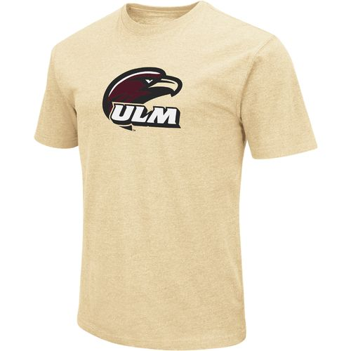 Colosseum Athletics Men's University of Louisiana at Monroe Logo Short Sleeve T-shirt