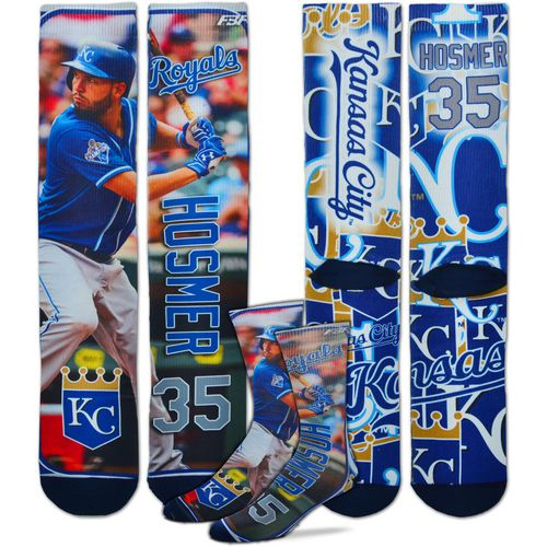 For Bare Feet Unisex Kansas City Royals Eric Hosmer Player Socks