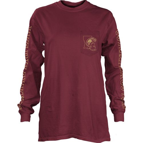 Three Squared Juniors' University of Louisiana at Monroe Mystic Long Sleeve T-shirt