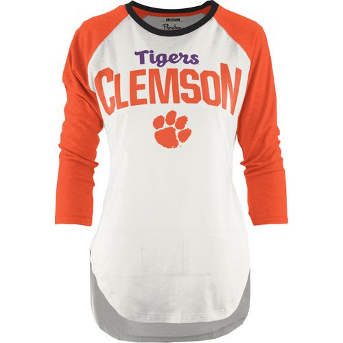 Three Squared Juniors' Clemson University Quin T-shirt