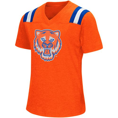 Colosseum Athletics Girls' Sam Houston State University Rugby Short Sleeve T-shirt