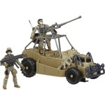 U.S. Army Desert Patrol Vehicle Toy Set - view number 1