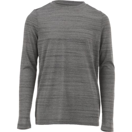 BCG Boys' Melange Turbo Long Sleeve T-shirt