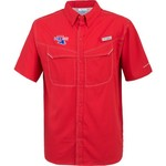 Columbia Sportswear Men's Louisiana Tech University Low Drag Offshore Short Sleeve Shirt - view number 1