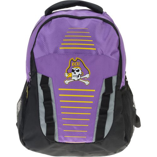 Forever Collectibles East Carolina University Stripe Franchise Backpack