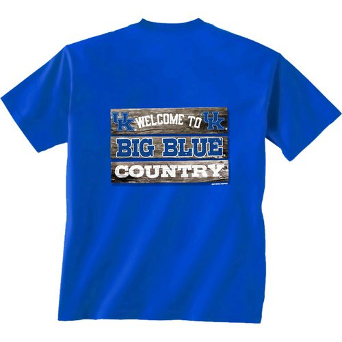 New World Graphics Men's University of Kentucky Welcome Sign T-shirt