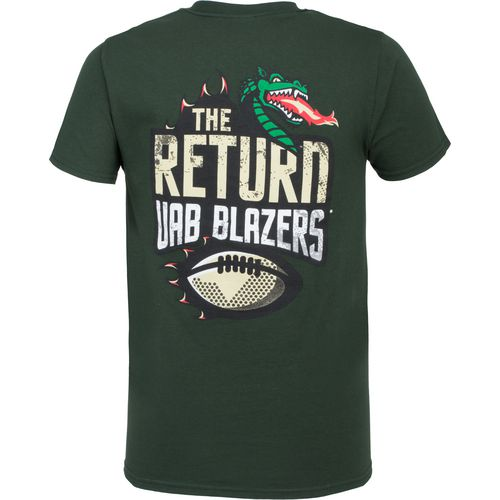Image One Men's University of Alabama at Birmingham The Return Football T-shirt - view number 1