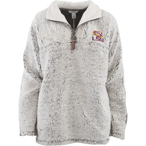 Three Squared Juniors' Louisiana State University Poodle Pullover Jacket