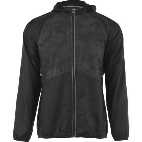 BCG Men's Reflective Full Zip Rain Jacket