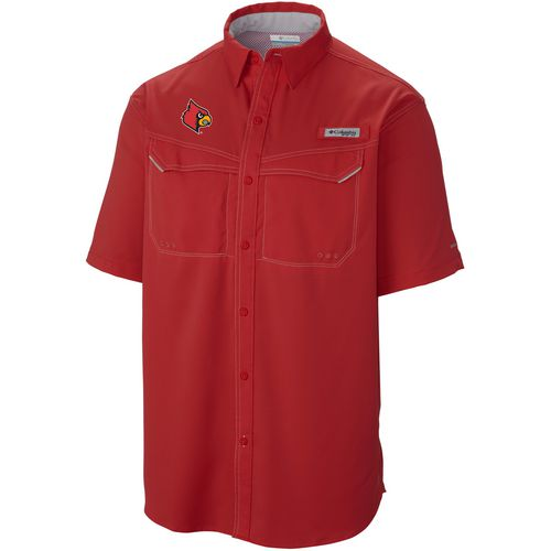 Columbia Sportswear Men's University of Louisville Low Drag Offshore Short Sleeve Shirt