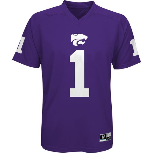 Gen2 Boys' Kansas State University Football Jersey Performance T-shirt