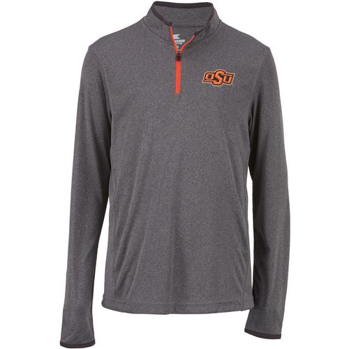 Colosseum Athletics Youth Oklahoma State University Action Pass 1/4 Zip Wind Shirt