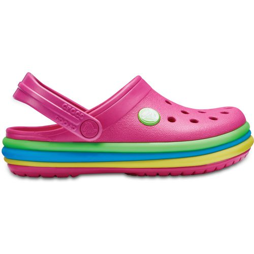 Crocs Kids' Crocband Rainbow Band Clogs