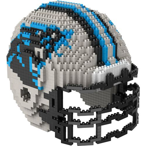 Forever Collectibles Carolina Panthers BRXLZ 3-D Mini Helmet Puzzle