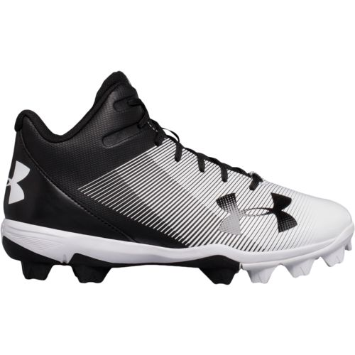 Under Armour Boys' Leadoff Mid RM Jr. Baseball Cleats - view number 3