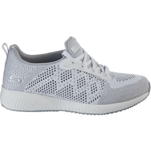 Skechers Womens/Ladies Bobs Sport Squad Hot Spark Sneakers Shoes