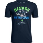 Under Armour Boys' Savage on the Court T-shirt - view number 2