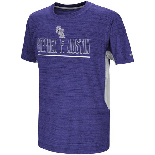 Colosseum Athletics Boys' Stephen F. Austin State University Over the Fence T-shirt