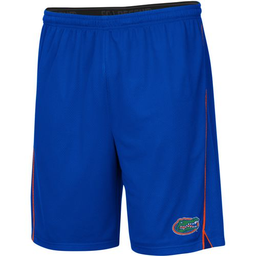Colosseum Athletics Men's University of Florida Embroidered Mesh Shorts