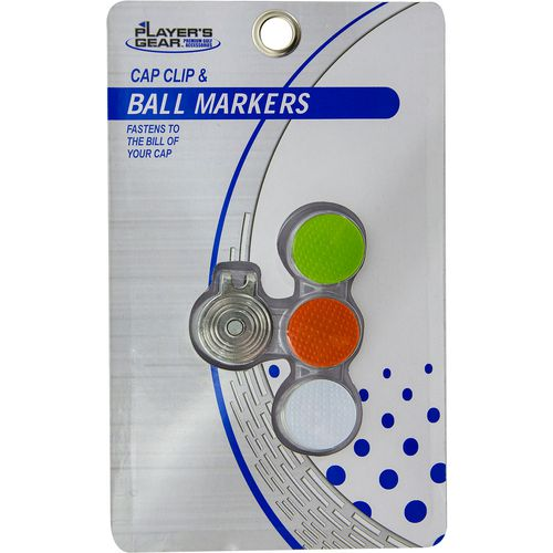 Players Gear Golf Ball Markers 3-Pack
