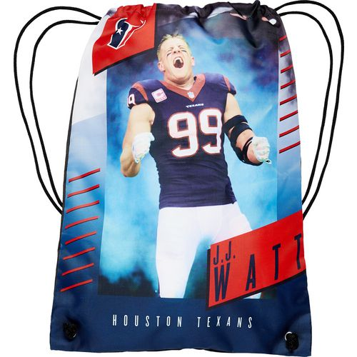 Forever Collectibles Houston Texans J.J. Watt #99 Drawstring Backpack
