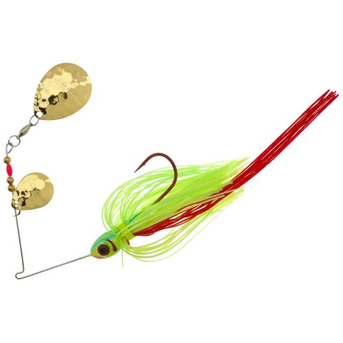 Display product reviews for BOOYAH Tux & Tails 3/8 oz Double-Colorado Blade Spinnerbait