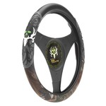 Realtree Molded-Rubber Steering Wheel Cover