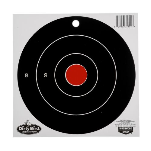 Display product reviews for Birchwood Casey® Dirty Bird Bull's-Eye Splattering Targets 25-Pack