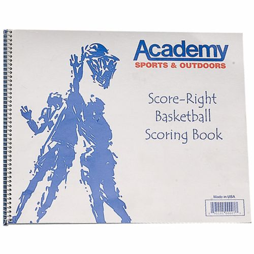 Score-Right Academy Basketball Scorebook