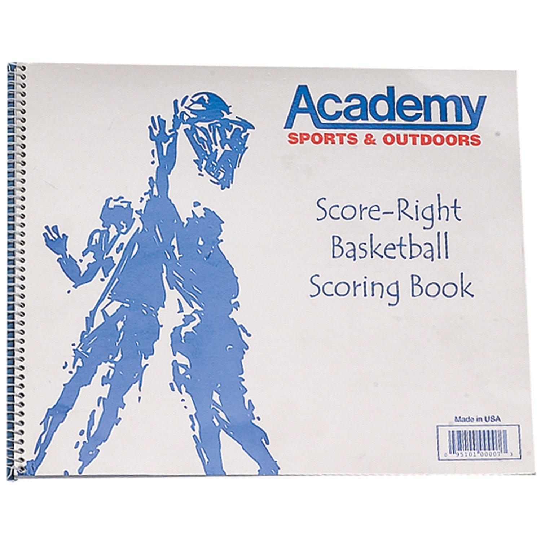 Score-Right Academy Basketball Scorebook
