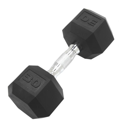 CAP Barbell 30 lb. Coated Hex Dumbbell