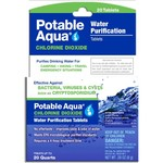 Potable Aqua® Chlorine Dioxide Water Purification Tablets