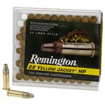 Remington Yellow Jacket® HP .22 LR 33-Grain Rimfire Rifle Ammunition