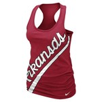 Nike Women's University of Arkansas Boyfriend Tank Top