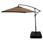 Mosaic 10' Offset Tilt Patio Umbrella with Base