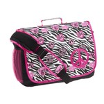 Accessories 22 Girls' Pretty N Sassy Zebra Full Size Messenger Bag