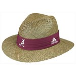 adidas Men's University of Alabama Sideline Camp Straw Hat