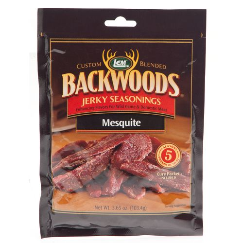 Display product reviews for LEM Backwoods Mesquite Jerky Seasoning