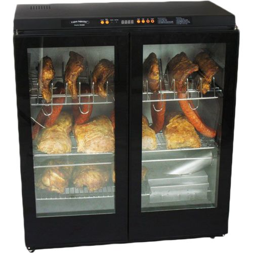 Cajun Injector Electric Smoker XL with Glass Doors