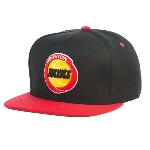 adidas Men's Houston Rockets Retro Flat Cap