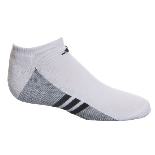adidas™ Kids' Cushion No-Show Socks 6-Pair