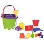 Amloid Sprinkler Bucket 12-Piece Castle Creator Set