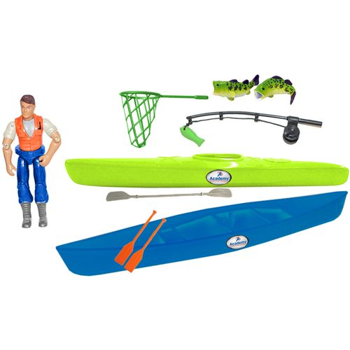 Tree House Kids Imagination Adventure Series Deluxe Fishing Accessories Set