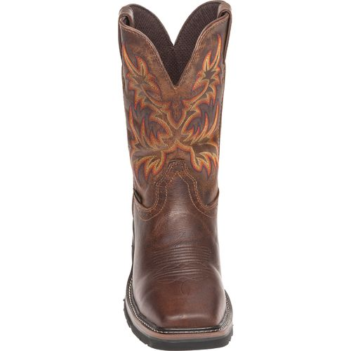 Justin Men's Rugged Cowhide Waterproof Steel Toe Western Work Boots - view number 3